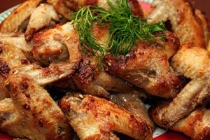 Хрустящие куриные крылышки рецепт