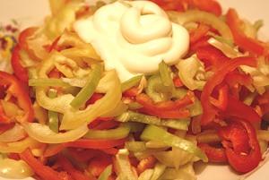 салат перец