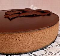 торт шоколадный мусс рецепт с фото