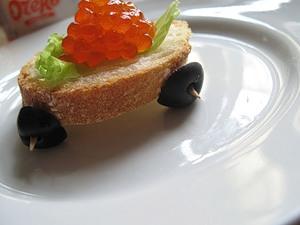 красная икра бутерброды