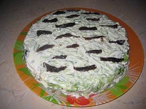 Салат Белая береза