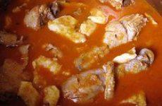 Паприкаш из баранины (болгарская кухня)