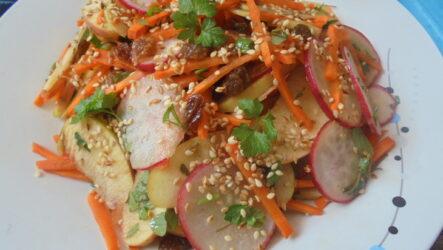 Хрустящий Мавританский салат от Джейми Оливера