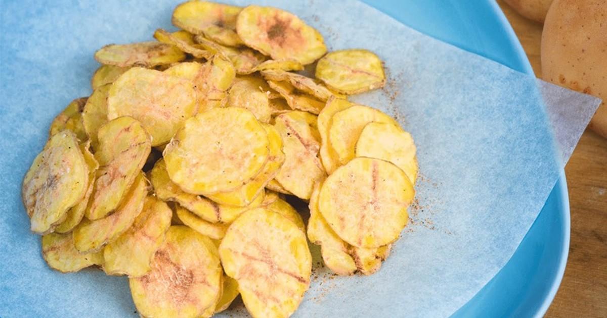 Натуральные чипсы за 5 минут