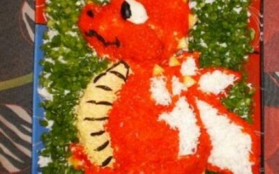 Салат «Новогодний дракон»