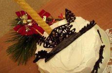 Новогодний торт «Чёрный Дракон»