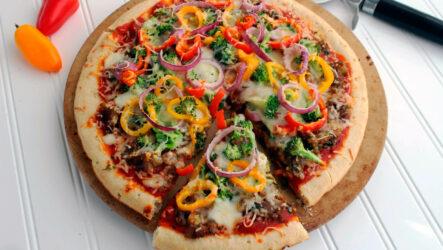 Вегетарианская пицца: куча рецептов