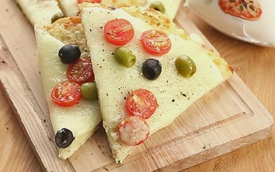Пицца без теста: 4 рецепта