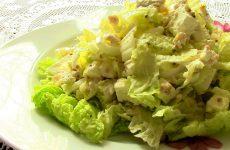 Салаты из курицы и пекинской капусты: 4 рецепта