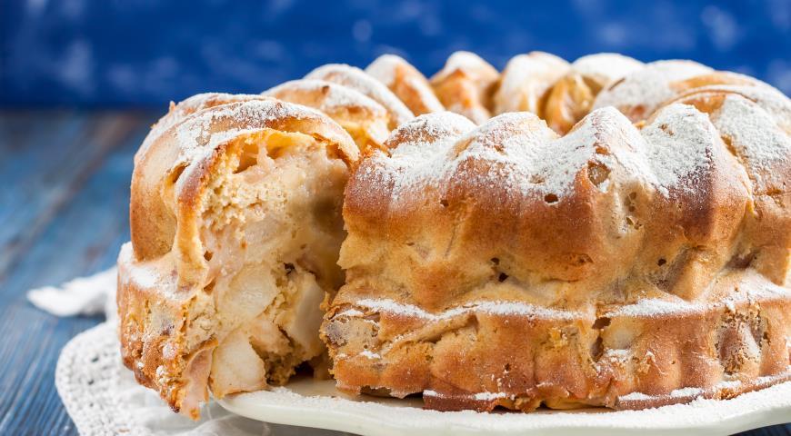 Самый вкусный яблочный пирог Шарлотка