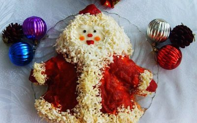 Салат «Дед Мороз»