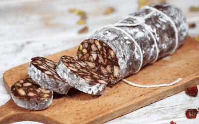 Шоколадная колбаса: 9 лучших рецептов