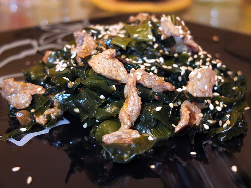 Рецепты с морской капустой