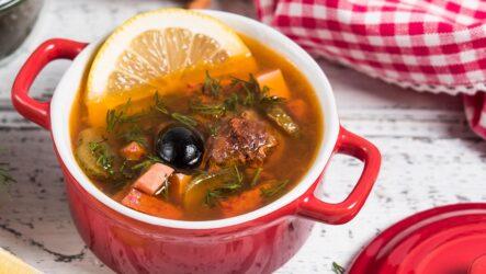 Солянка мясная: 7 сытных рецептов