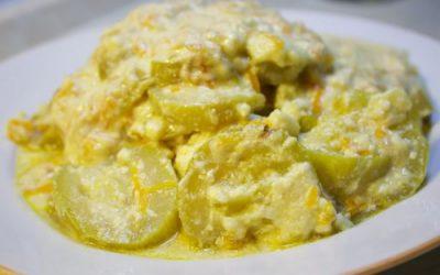 Кабачки в сливочном соусе: 4 рецепта
