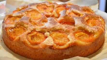 Пирог с абрикосами: 4 рецепта