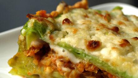 Вегетарианская лазанья: 6 рецептов