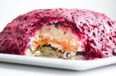 Вегетарианская селедка под шубой: 5 рецептов