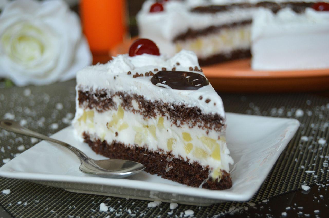 Простой торт