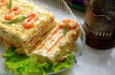 Закусочный торт Наполеон: начинки: много рецептов
