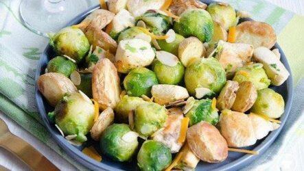 Салаты из брюссельской капусты: 5 рецептов