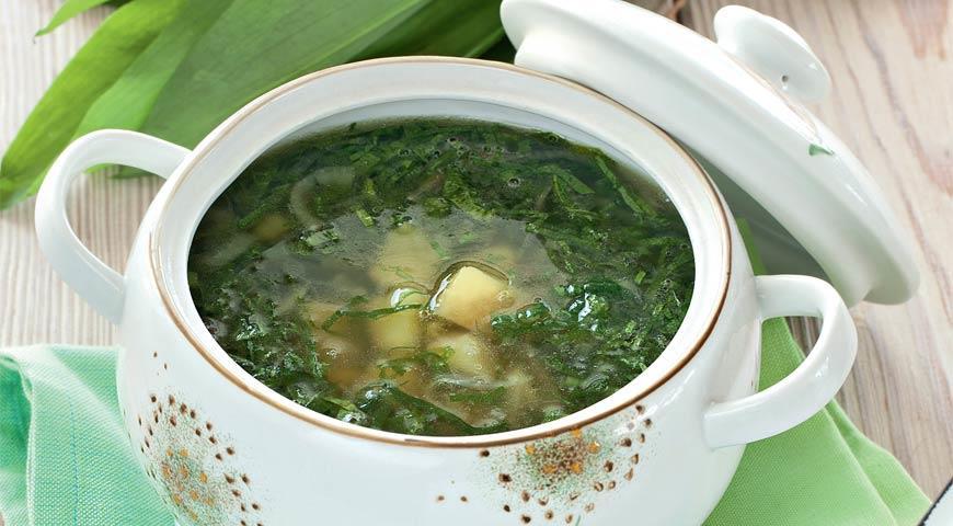 Суп из черемши рецепт