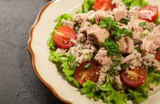 Салат из кускуса с тунцом: 8 рецептов