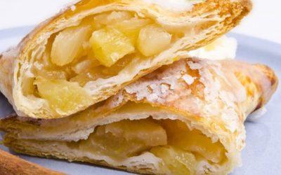 Слоеное тесто с банановой начинкой: 7 рецептов