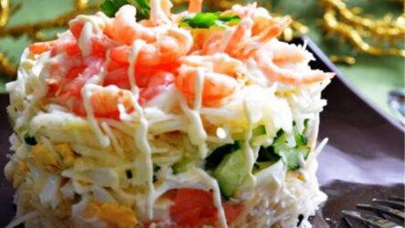 Салат Суши: 8 лучших рецептов