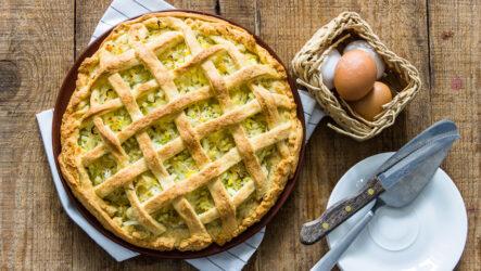 Постный пирог с капустой: 9 вкуснейших рецептов