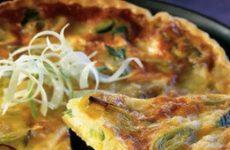 Пирог с зеленым луком: 10 рецептов