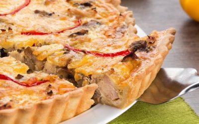 Лоранский пирог с курицей: 7 лучших рецептов
