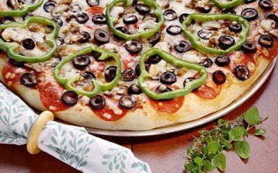 Постная пицца: 8 рецептов основы и начинки