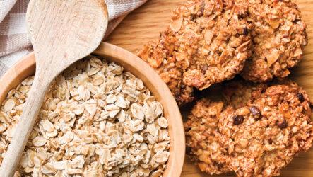Печенье с овсяными хлопьями: 8 лучших рецептов