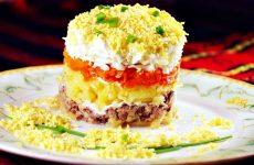 Салат мимоза с сыром: 9 лучших рецептов