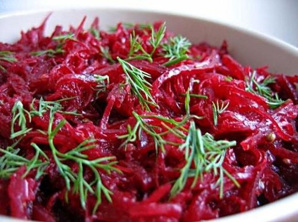 Блюда из вареной свеклы рецепты
