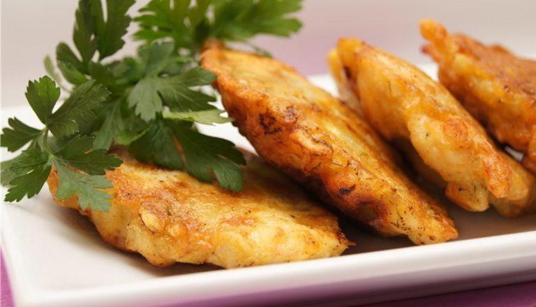 Куриные оладьи с рисом рецепт