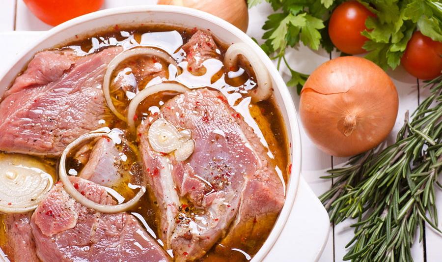 Маринад для шашлыка с уксусом из свинины рецепт пошагово в