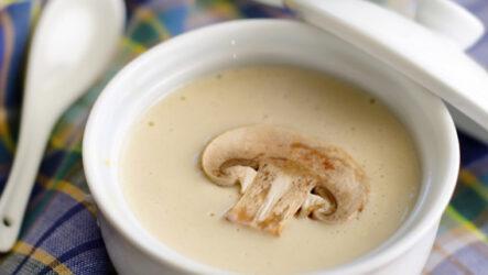 Грибной суп с сыром: 10 сытных рецептов