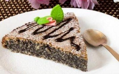 Маковый пирог: 10 разнообразных рецептов