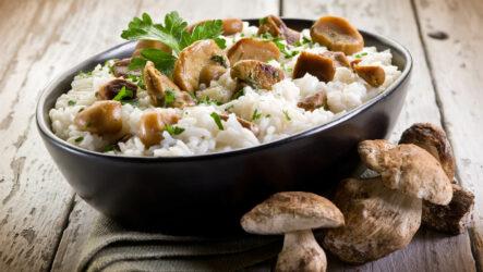 Ризотто с грибами: 10 лучших рецептов