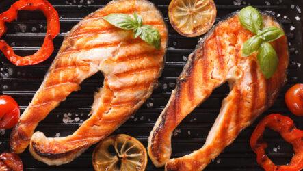 Рыба на гриле: 10 полезных рецептов