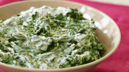 Что приготовить из шпината со сливками: 10 рецептов