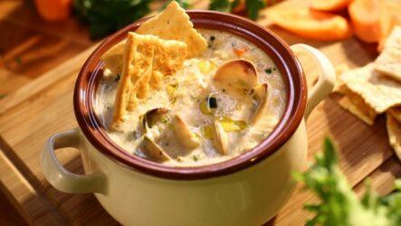 Суп Чаудер: 10 рецептов с морепродуктами