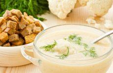 Суп-пюре из цветной капусты: 10 полезных рецептов