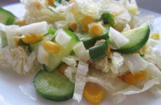 Пекинский салат с огурцом: 8 свежих рецептов