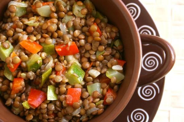 Чечевица с овощами в мультиварке рецепты