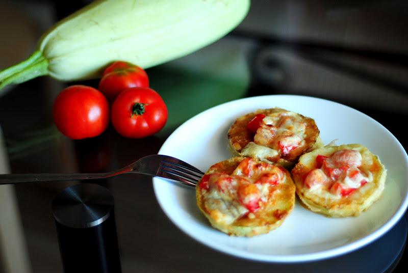 Кабачки с помидорами в духовке