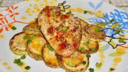 Курица с кабачками в духовке: 8 простых рецептов