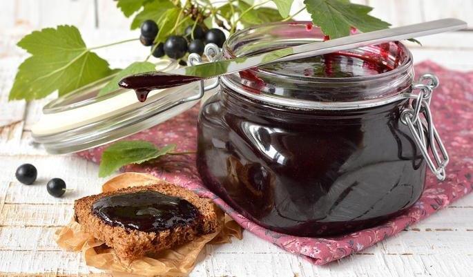 варенье из черной и красной смородины пятиминутка рецепт
